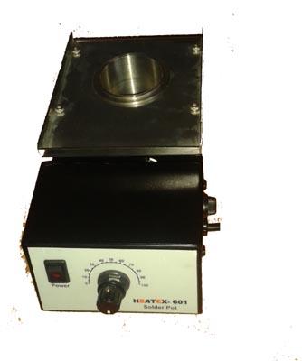 Analog solder pot