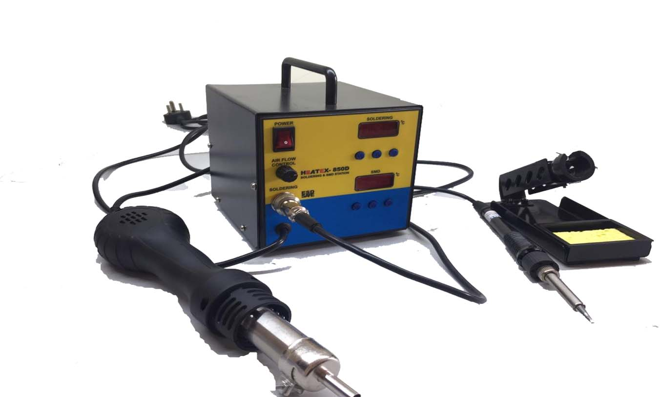 DIGITAL SOLDERING AND SMD REWORK STATION